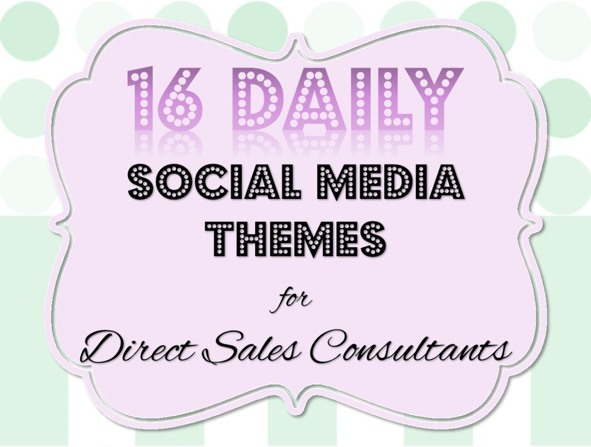 16 daily social media themes for direct sales consultants 16 daily social media themes for direct sales consultants superstar sellers publicscrutiny Choice Image